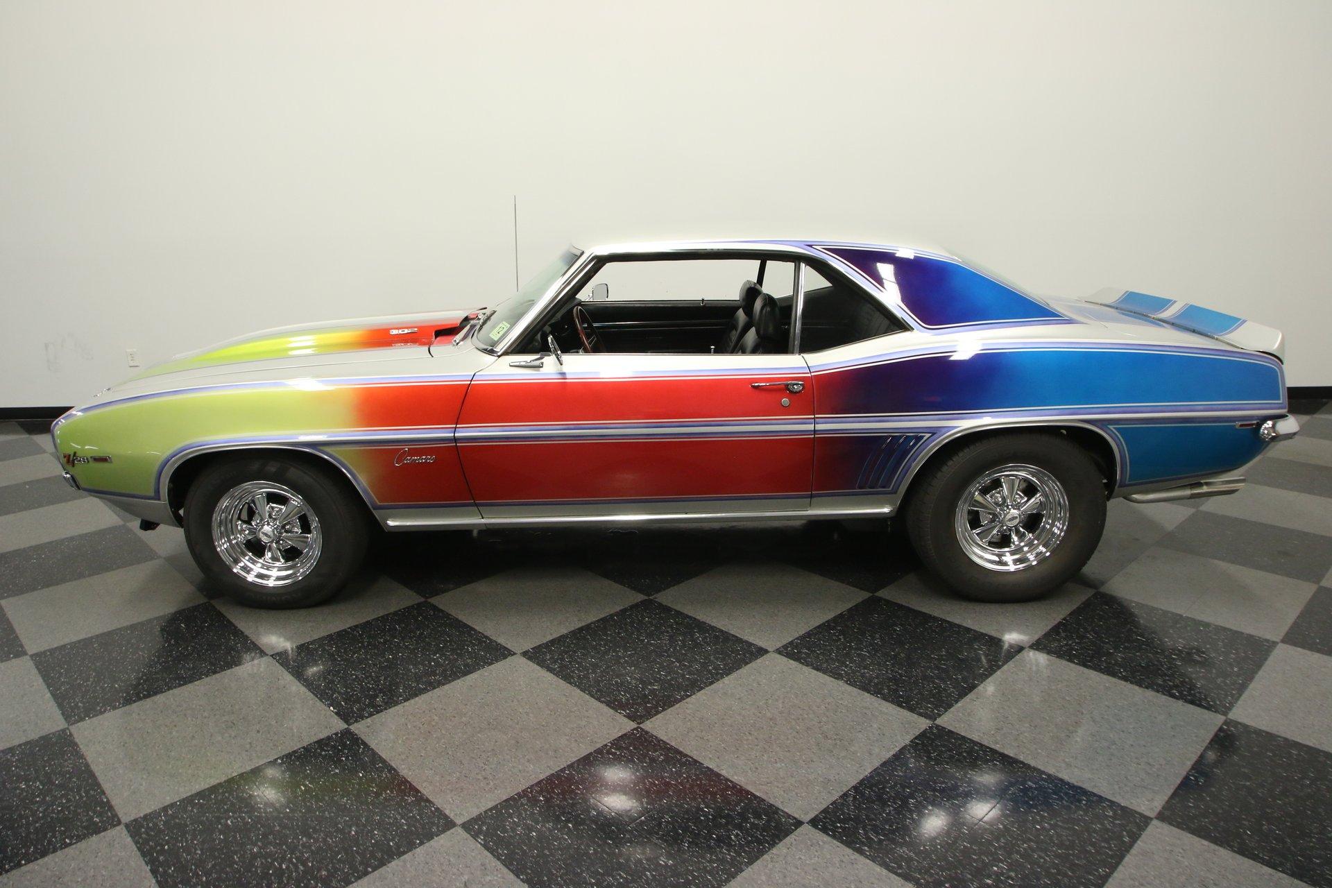 1969 chevrolet camaro retro resto