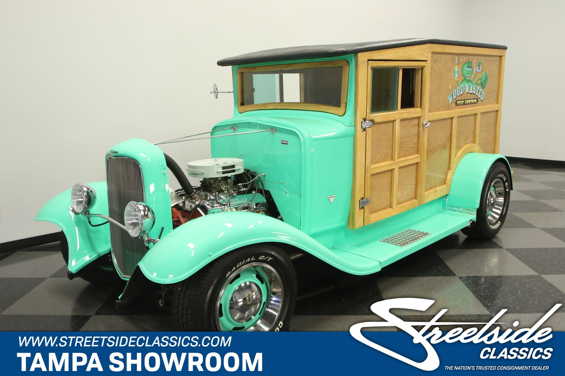 1928 hudson woody wagon
