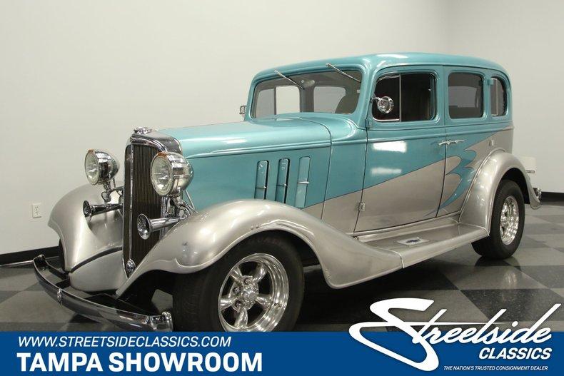 For Sale: 1933 Chevrolet Master