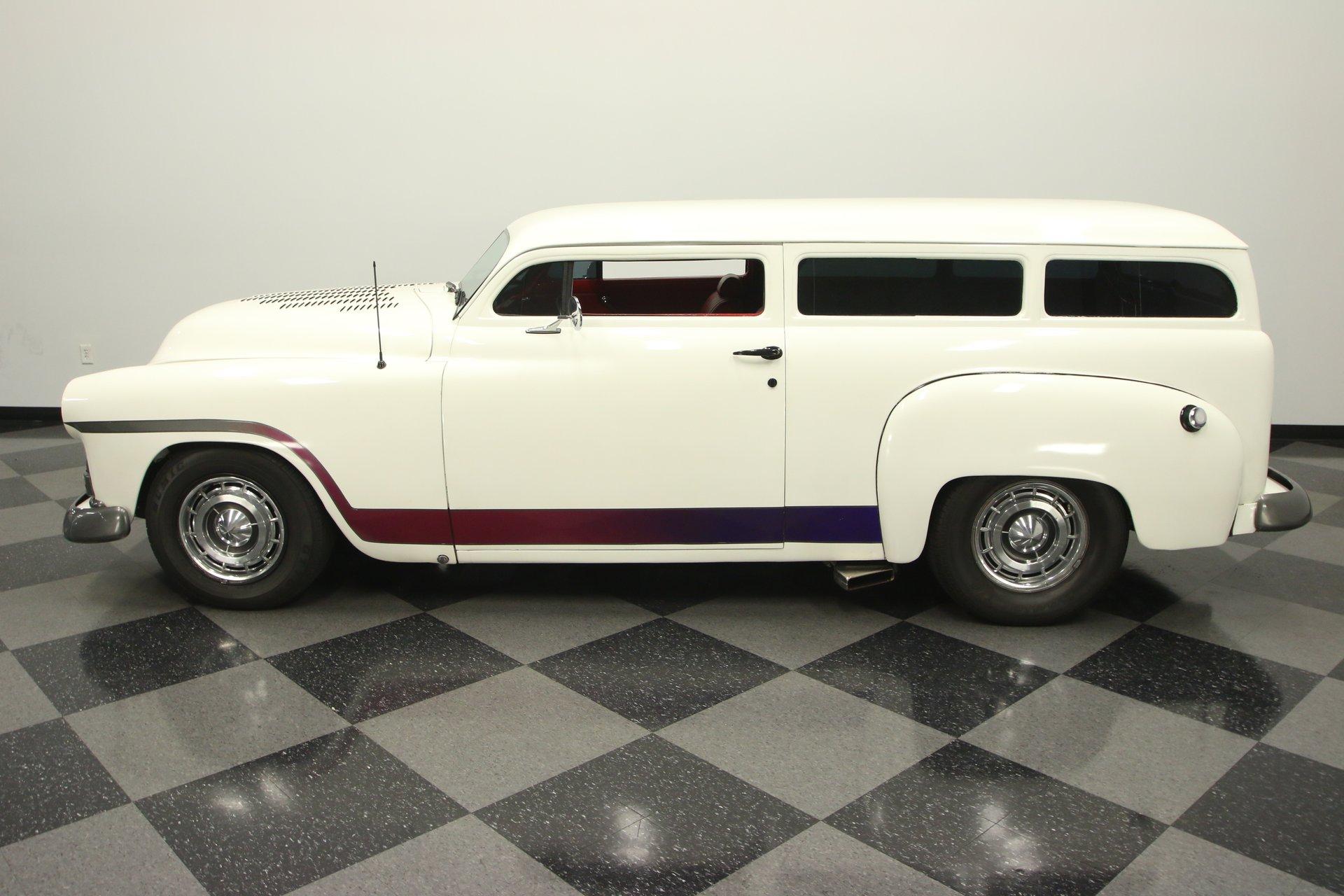 1951 plymouth custom 2 door wagon