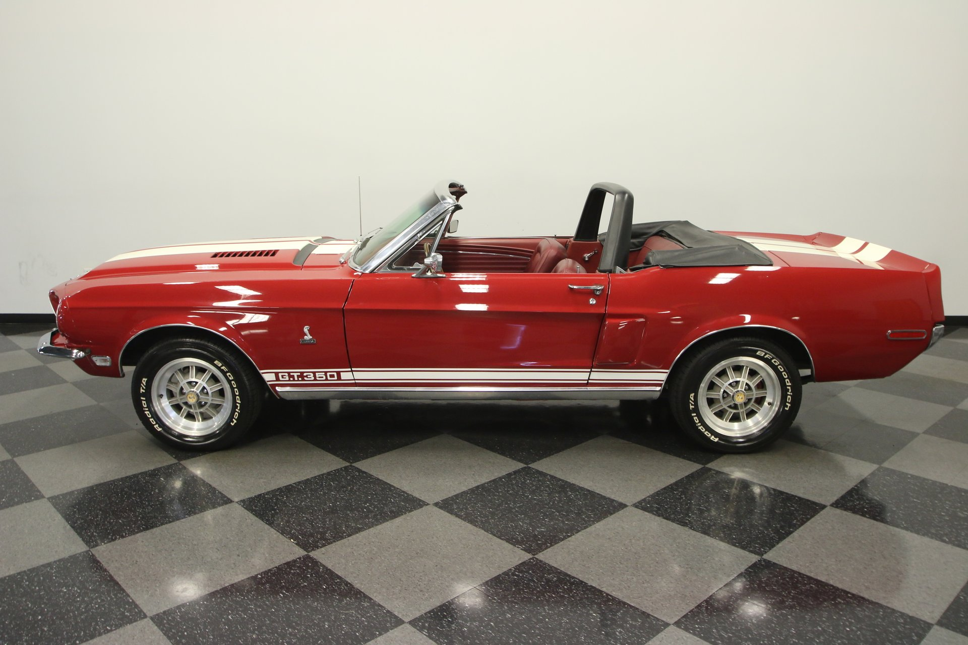 1968 ford mustang gt350 convertible tribute