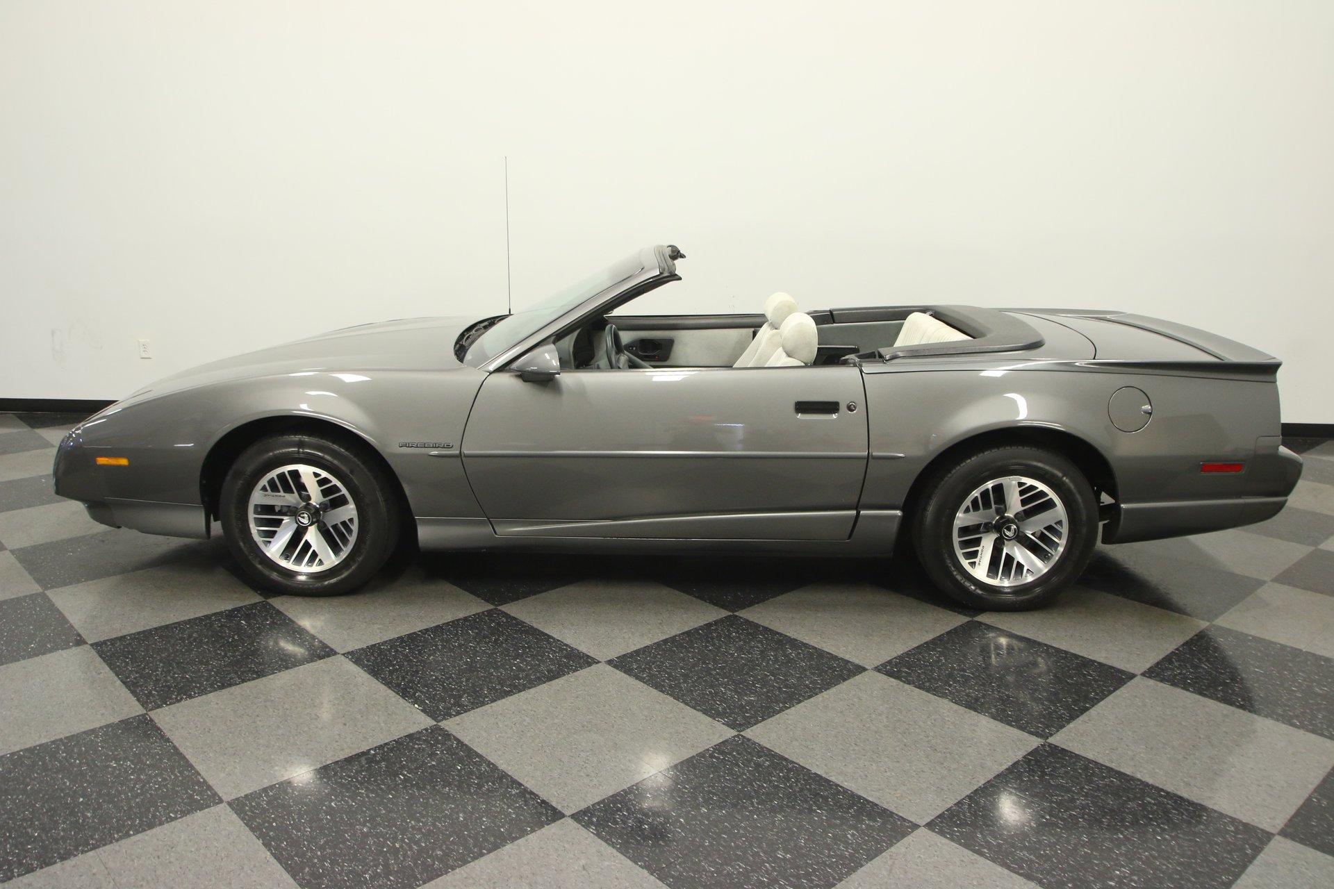 1991 pontiac firebird convertible