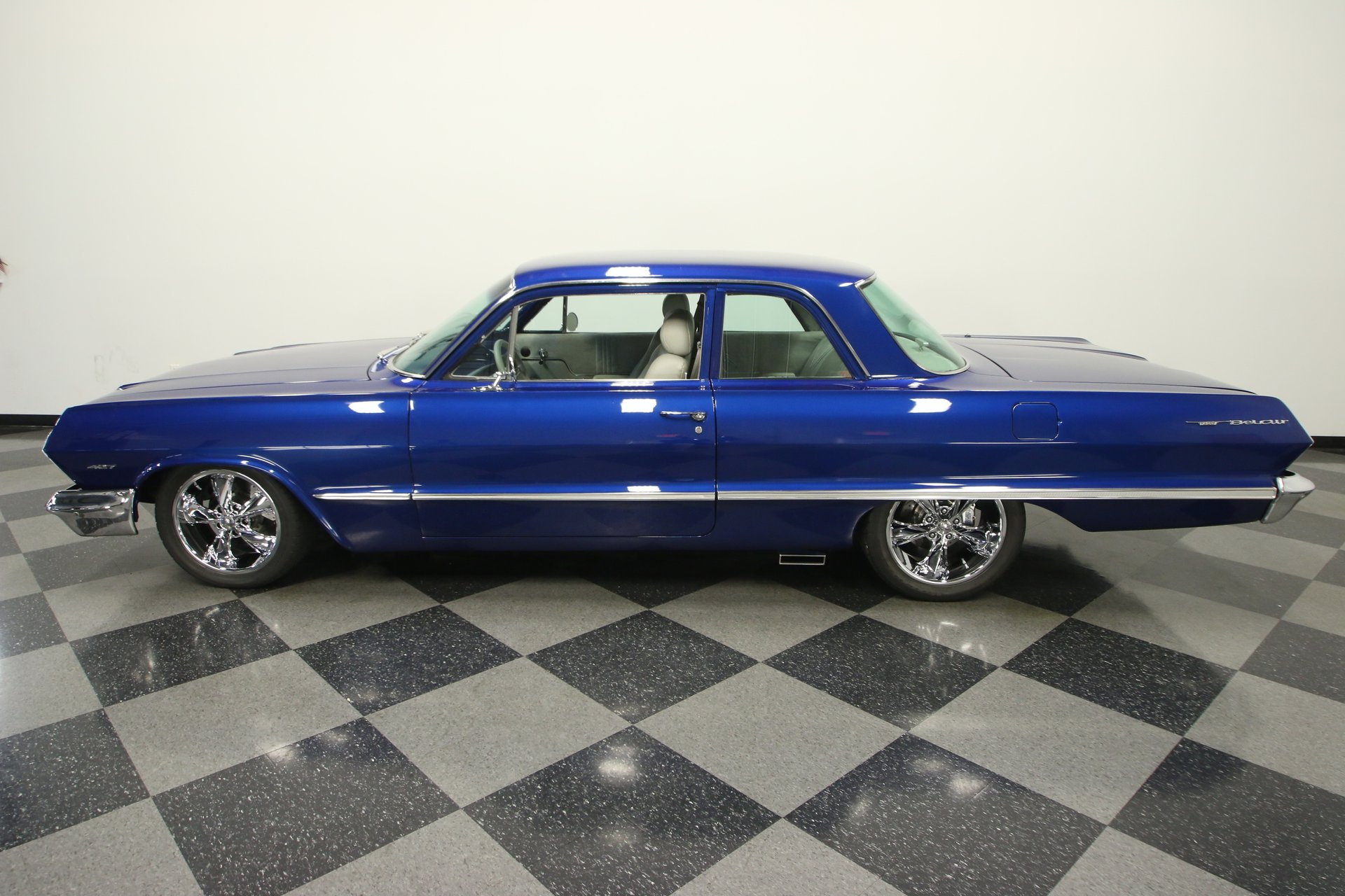 1963 chevrolet bel air restomod