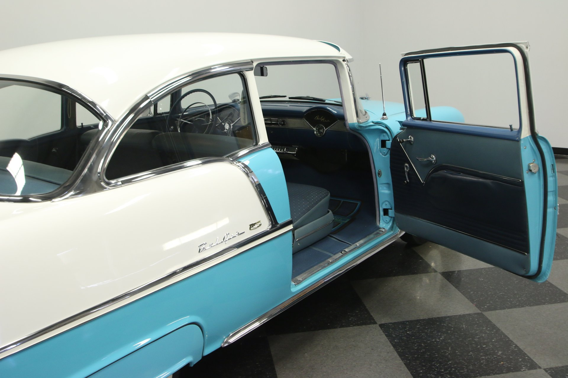 1955 Chevrolet Bel Air Streetside Classics The Nations Trusted Chevy 2 Door Sedan For Sale View 360