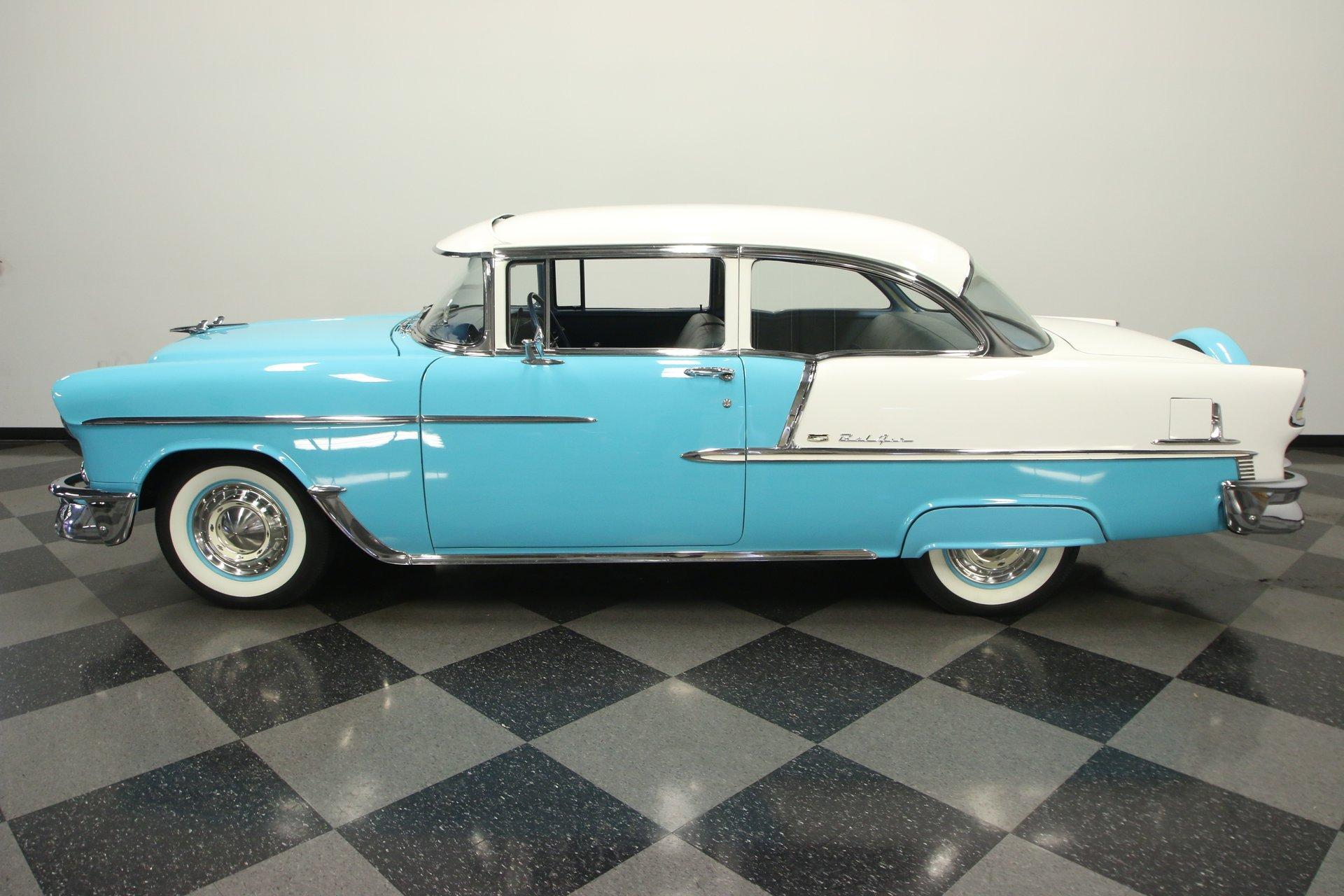 1955 chevrolet bel air 2 door sedan