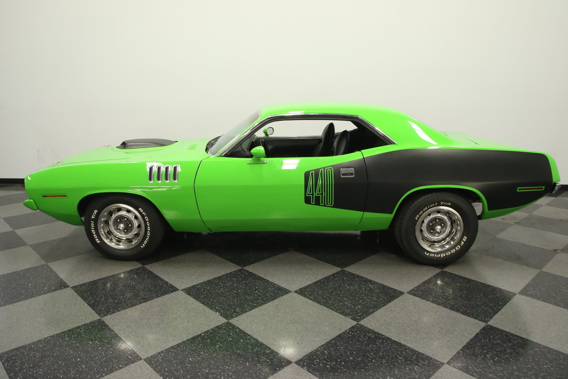 1972 plymouth cuda 440 6 pack tribute