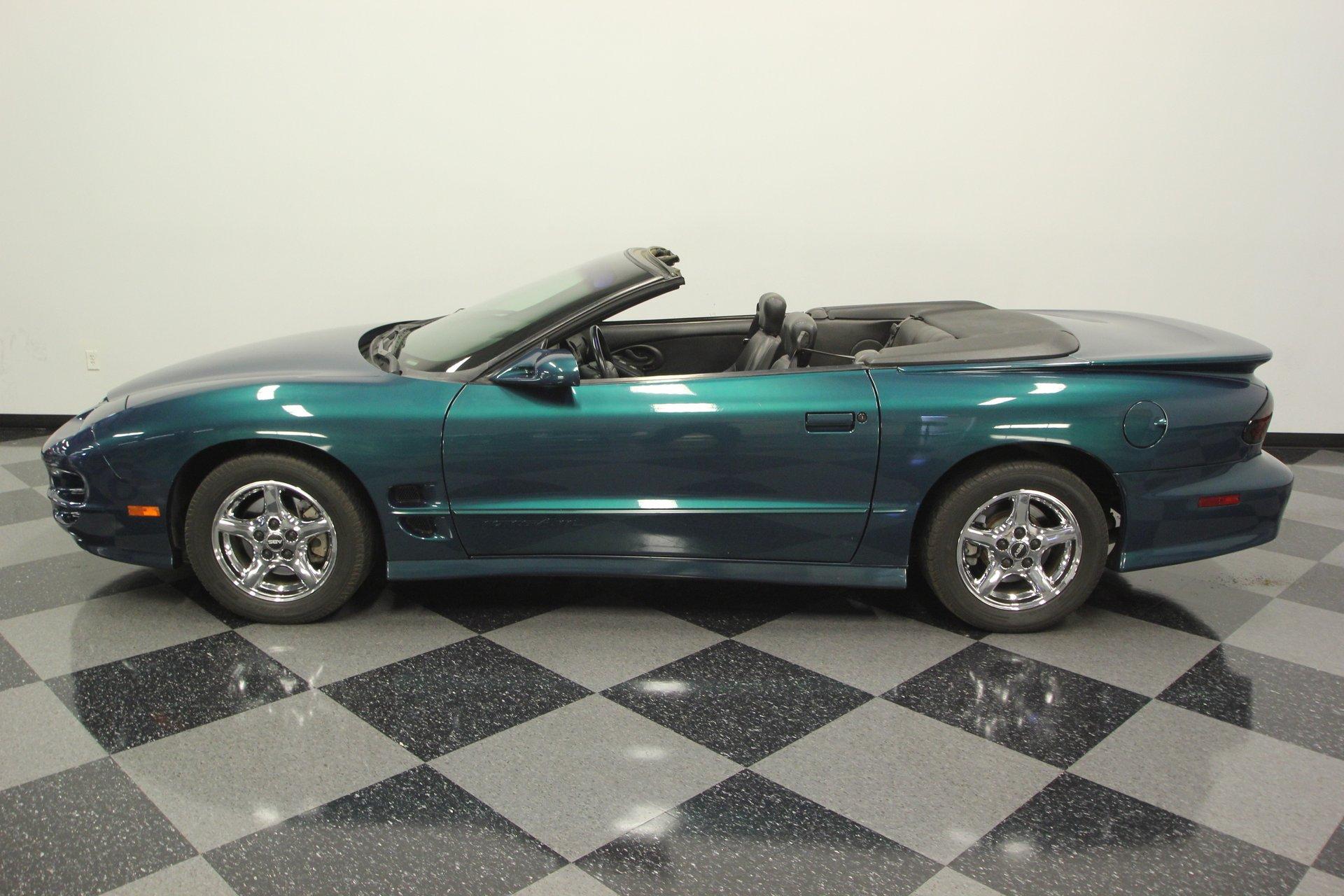 2001 pontiac firebird trans am convertible