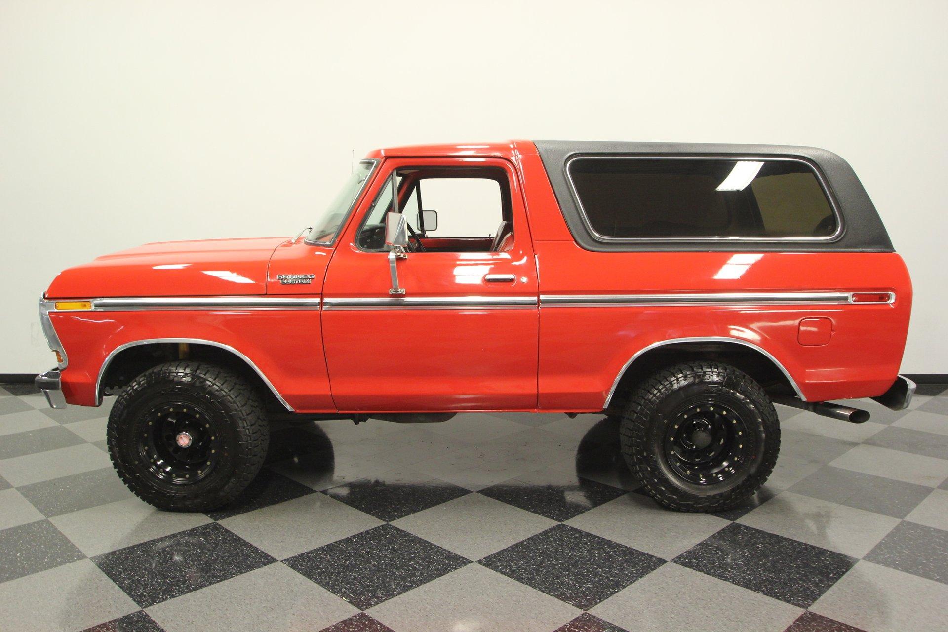 1978 ford bronco 4x4
