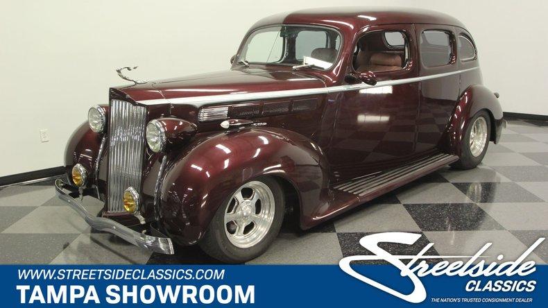 For Sale: 1938 Packard Sedan