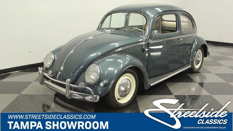 For Sale: 1956 Volkswagen Beetle