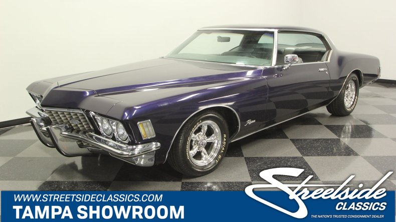 For Sale: 1972 Buick Riviera
