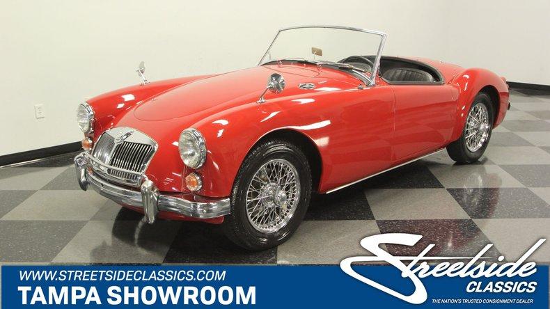For Sale: 1961 MG MGA