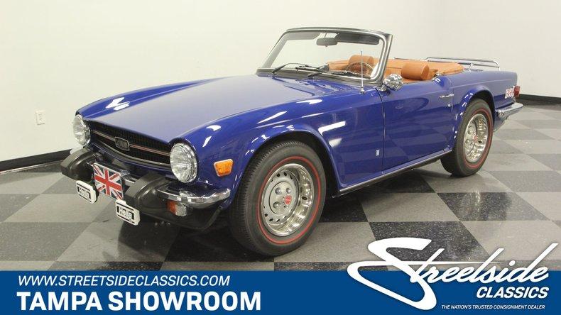For Sale: 1975 Triumph TR6