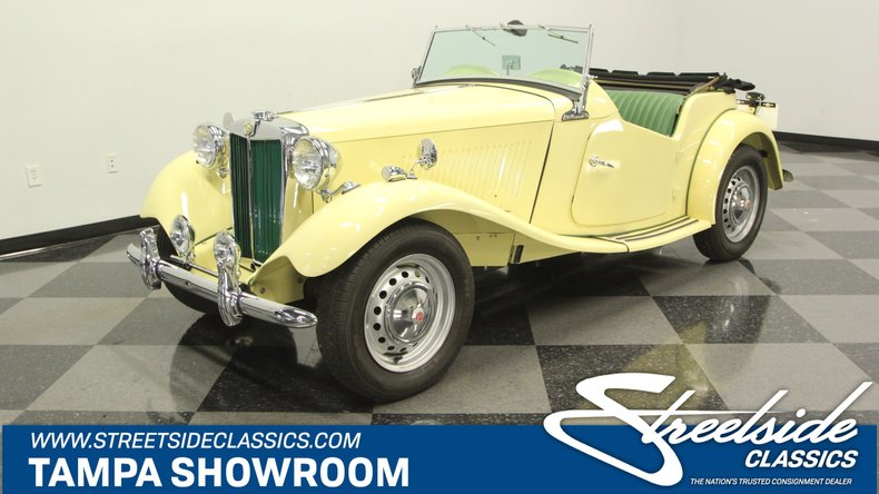 For Sale: 1953 MG TD