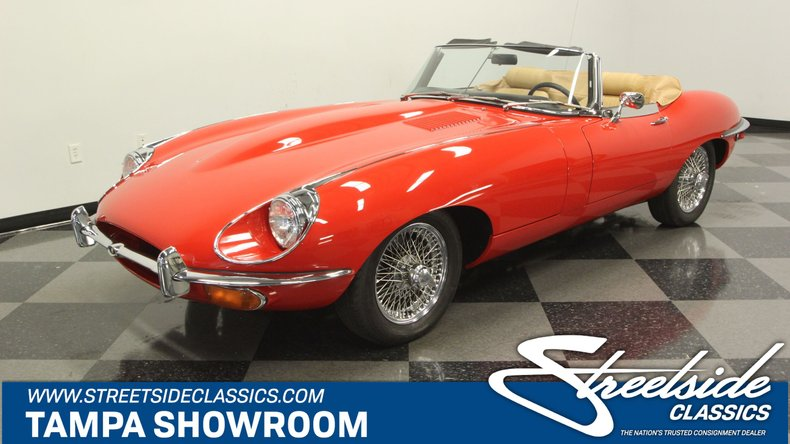 1970 Jaguar XKE Roadster For Sale