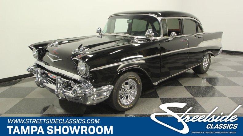 1957 chevy hardtop value