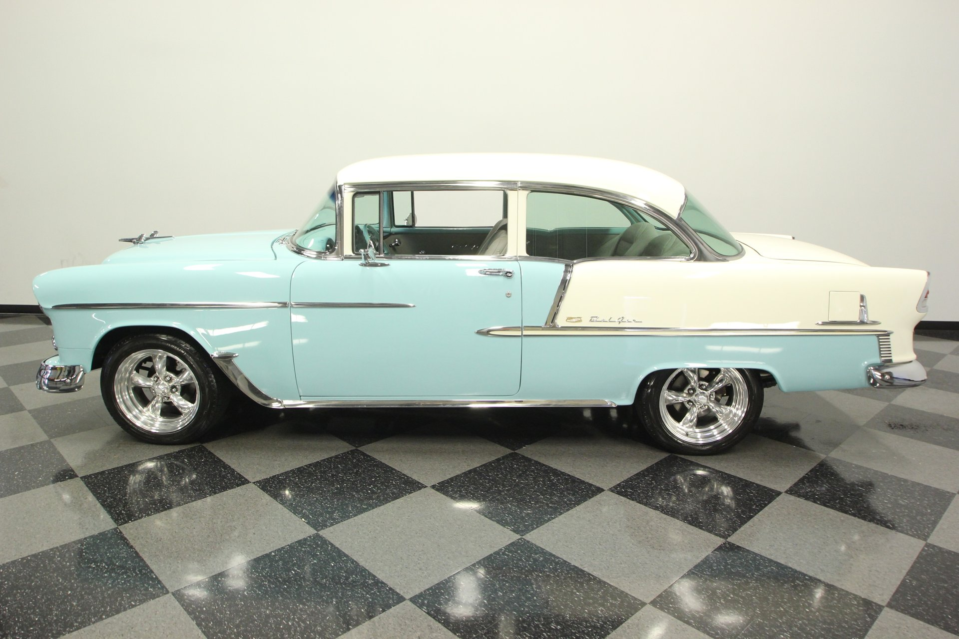 1955 chevrolet bel air restomod