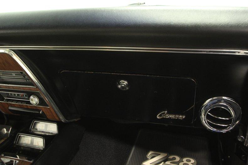 1968 Chevrolet Camaro 57