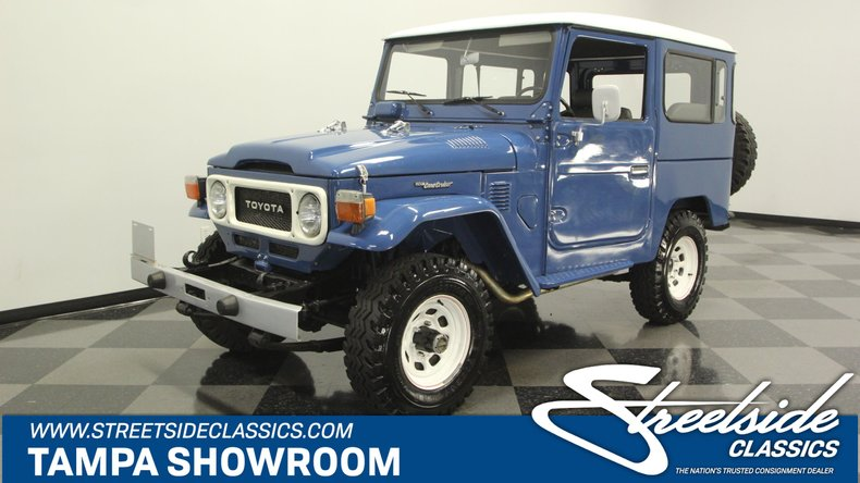 For Sale: 1985 Toyota FJ40