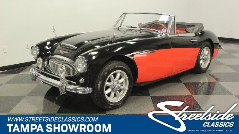 For Sale: 1963 Austin Healey 3000 Mark II