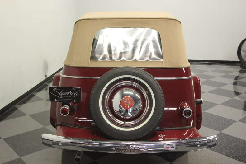 1948 Willys Jeepster 28
