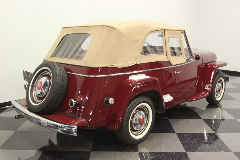1948 Willys Jeepster 27