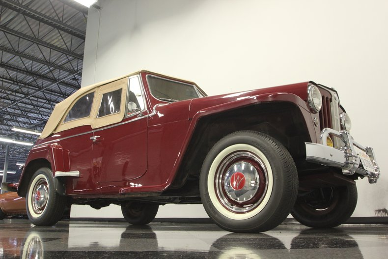 1948 Willys Jeepster 34