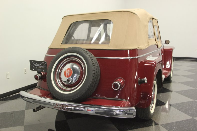 1948 Willys Jeepster 11