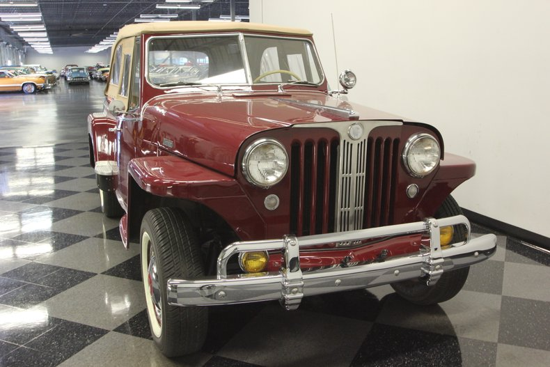 1948 Willys Jeepster 17