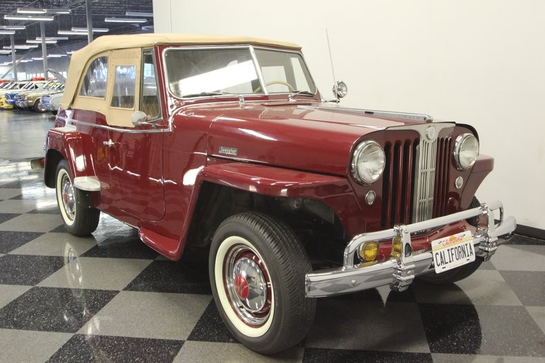 1948 Willys Jeepster 16