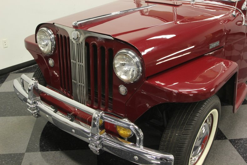 1948 Willys Jeepster 21