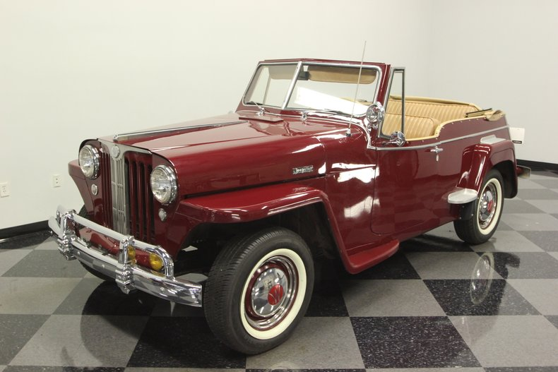 1948 Willys Jeepster 20