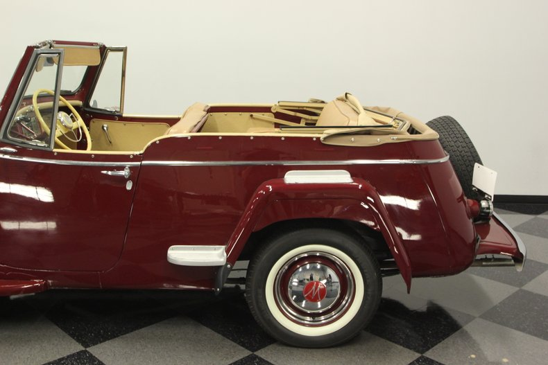 1948 Willys Jeepster 25