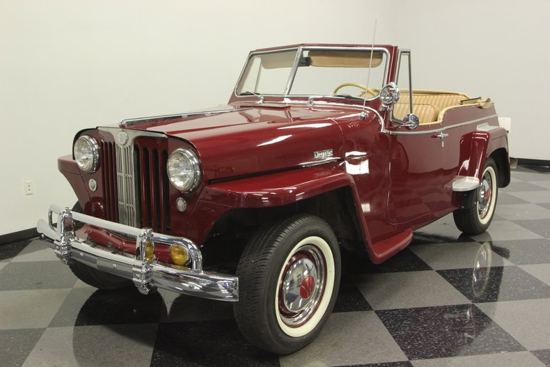 1948 Willys Jeepster 5