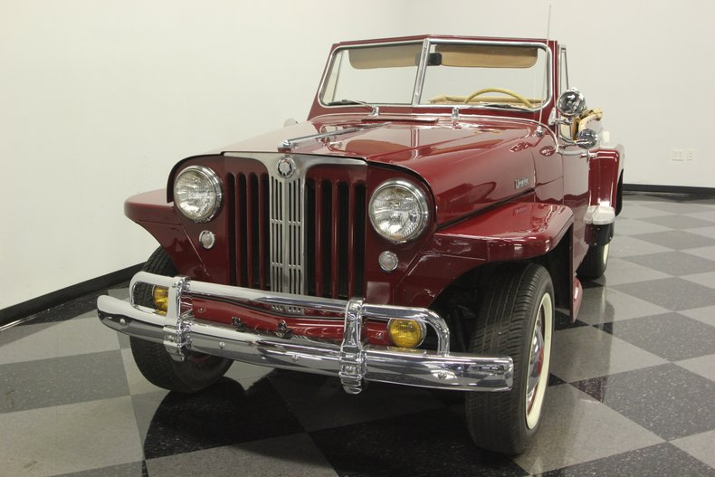 1948 Willys Jeepster 19