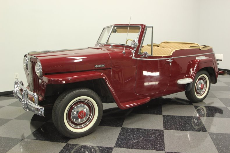 1948 Willys Jeepster 6