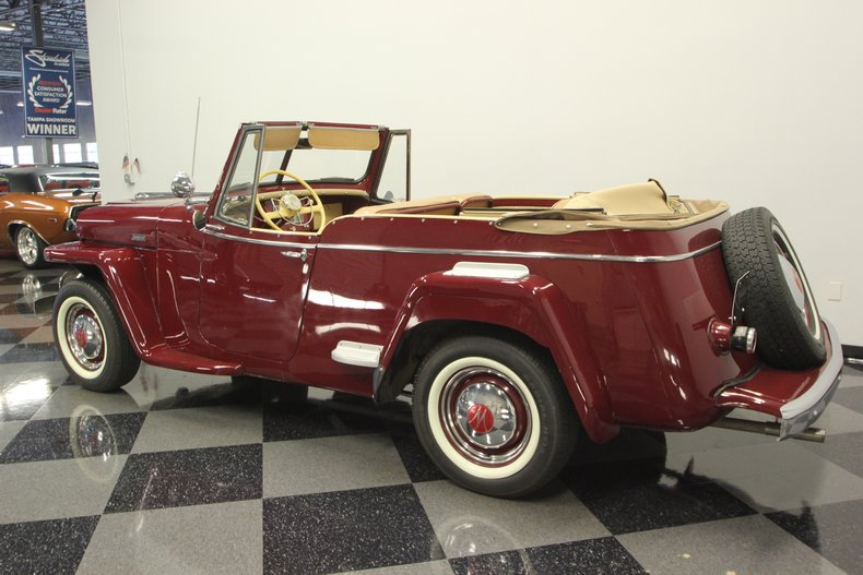 1948 Willys Jeepster 8
