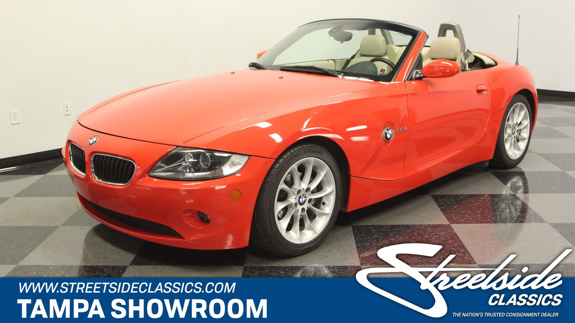 2005 Bmw Z4 Streetside Classics The Nation S Trusted Classic Car Consignment Dealer