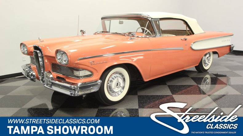 For Sale: 1958 Edsel Pacer