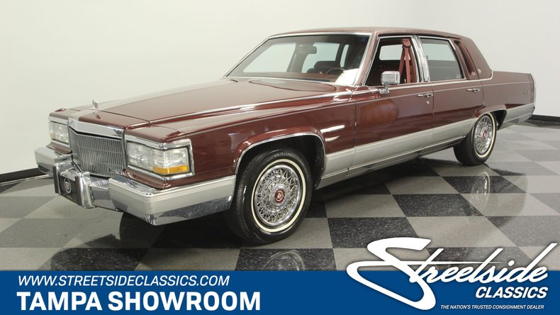 1990 Cadillac Brougham For Sale