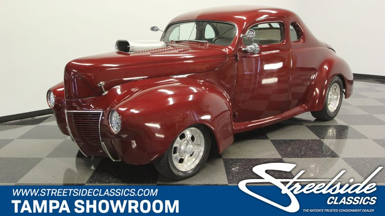 For Sale: 1940 Ford Club Coupe