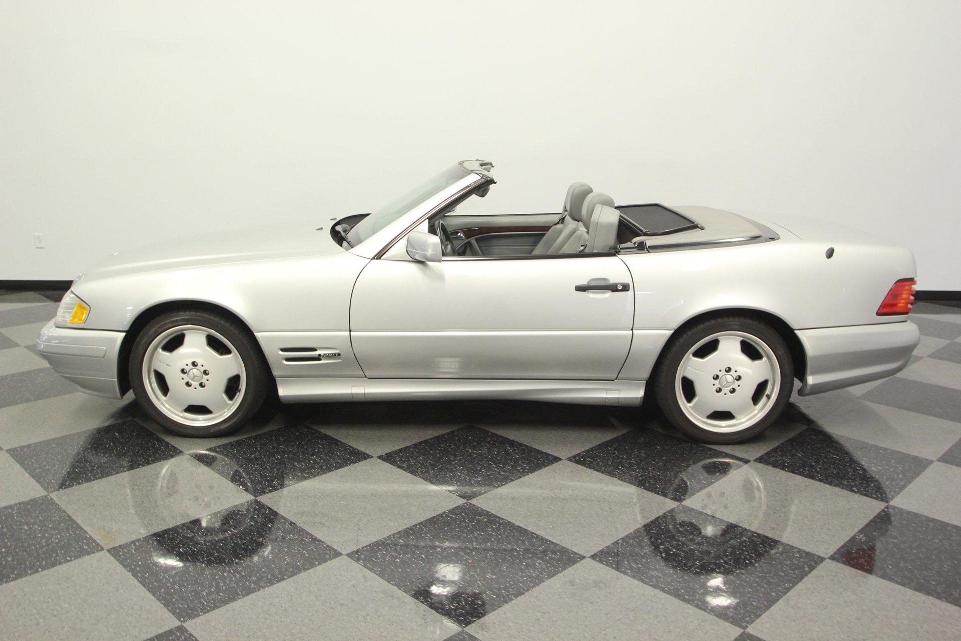 1997 mercedes benz sl500 sport convertible