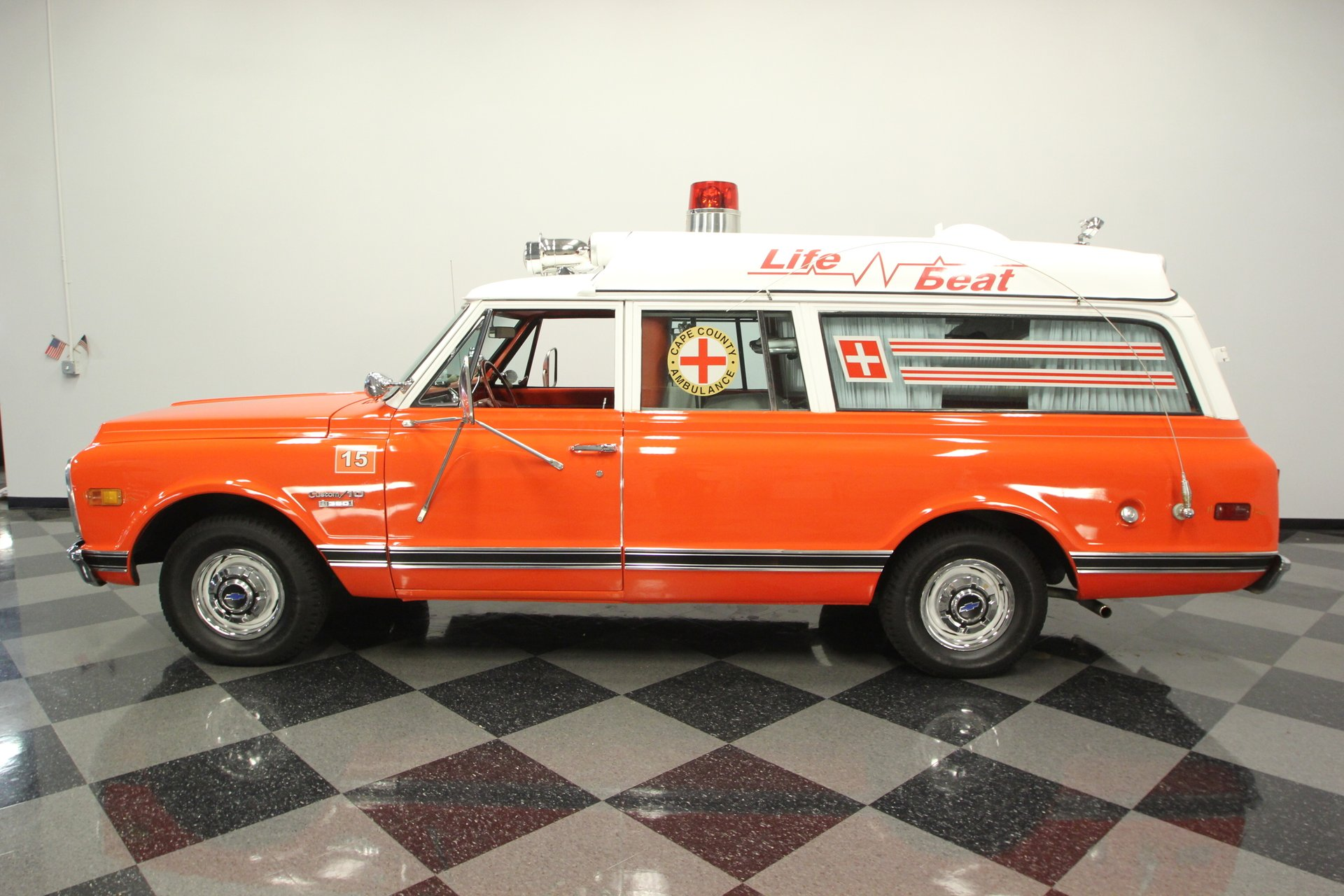 1970 chevrolet suburban ambulance