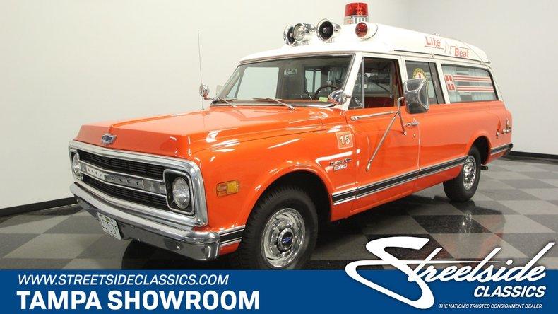 For Sale: 1970 Chevrolet Suburban