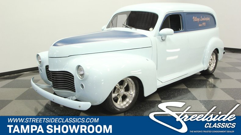 For Sale: 1941 Chevrolet Sedan Delivery