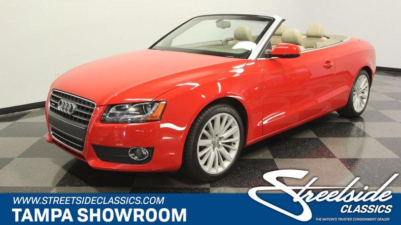 For Sale: 2012 Audi A5 Convertible Premium Plus