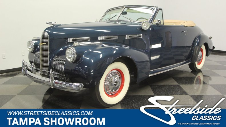 For Sale: 1940 LaSalle Convertible