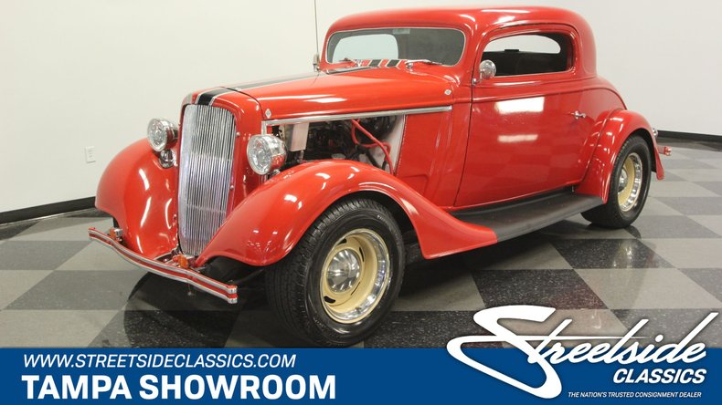 1934 Chevrolet 3 Window Coupe For Sale
