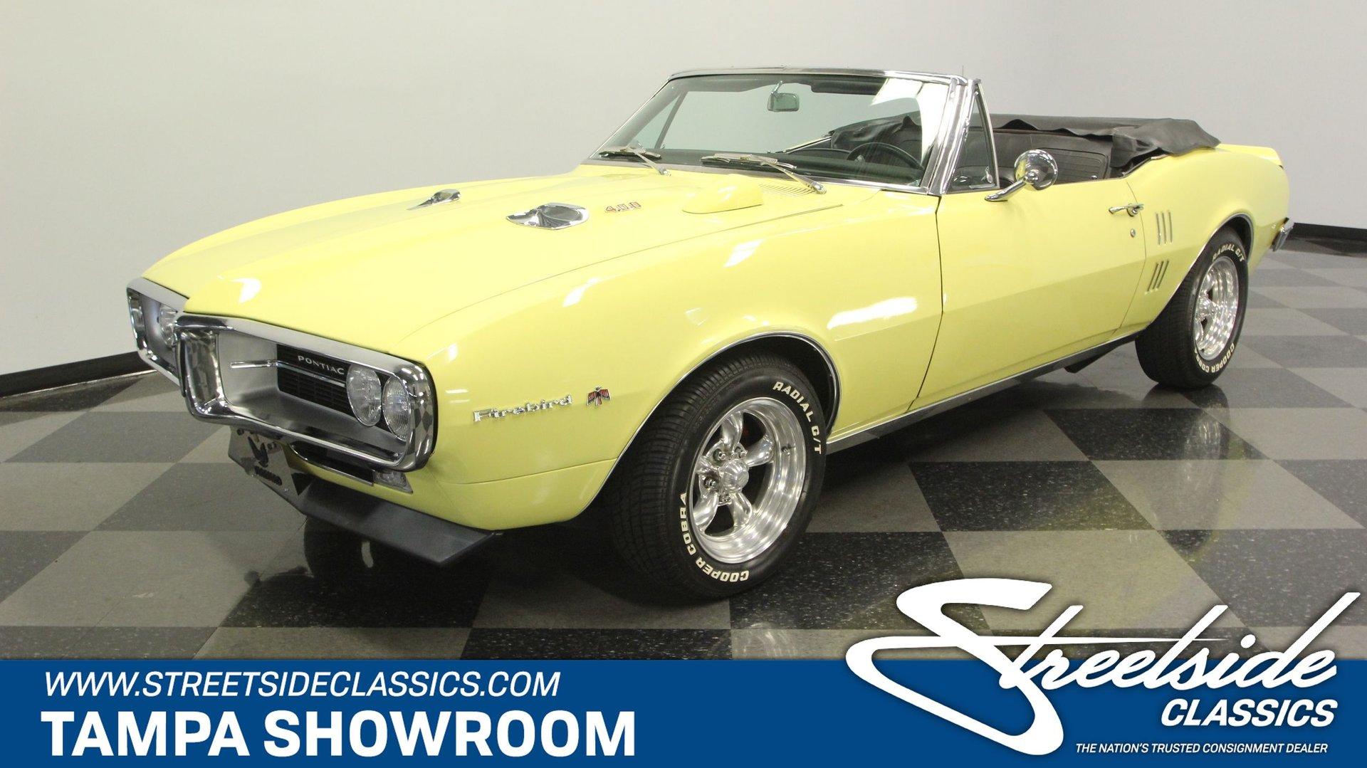 1967 Pontiac Firebird 400 Convertible for sale #167937