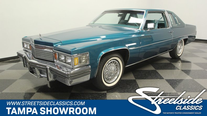 For Sale: 1979 Cadillac Coupe DeVille